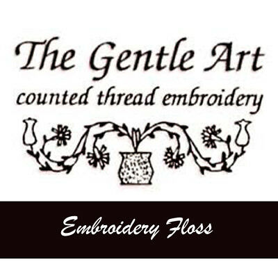 The Gentle Art Sampler Embroidery Threads Hand Over-Dyed Floss Colors A - L