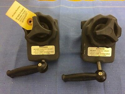 Allen Medical Systems Tri-Clamp operating room table clamps.  GC, Guaranteed