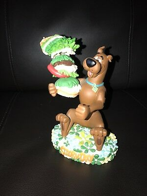 Extremely Rare Limited Hanna Barbara Scooby Doo Bobber Sandwich Figurine Statue