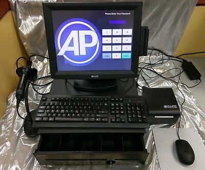 AccuPOS Terminal Powered by POS-X Point of Sale System