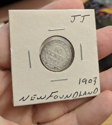 1903 Newfoundland 10 Cent-Nice Circulated -- (Jj)