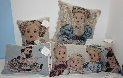 MADAME ALEXANDER Lot of 4 PILLOWS in Very Good condition!