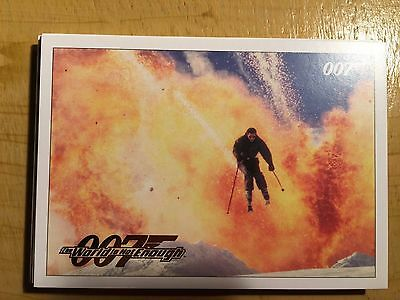 James Bond Classics 2016 The World is Not Enough Parallel Gold Card 21 069/125