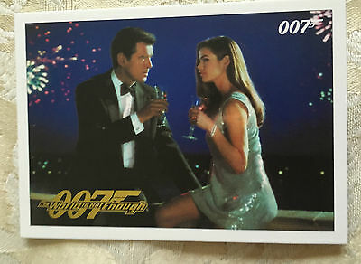 James Bond Classics 2016 The World is Not Enough Parallel Gold Card 72 112/125