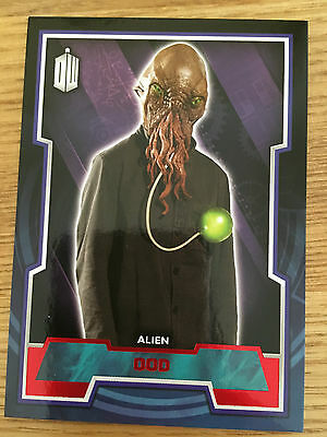 Topps Doctor Who 2015 Red Parallel 87 Base Card Ood 36/50