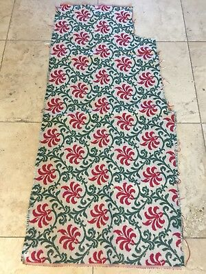 Vintage French Fabric Christmas