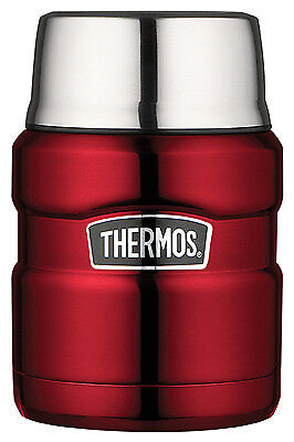 THERMOS LLC Stainless King Food Jar, Cranberry, 16-oz. SK3000CRTRI4