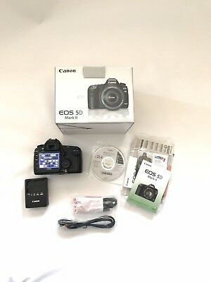 Canon EOS 5D Mark II 21.1MP Digital SLR Camera - Black (Body Only) Battery Grip
