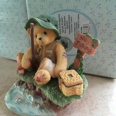 Cherished  Teddies Norman Patience Is A Fisherman's Virtue  #476765