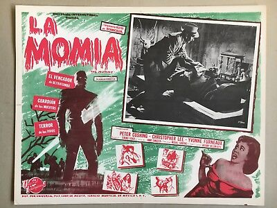 The Mummy ( La Momia) 1959, Mexican Lobby Card, Starring Peter Cushing, Room