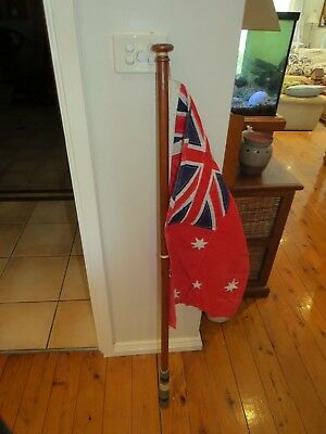 Australian Boat Flag with Timber Pole - Stonewall