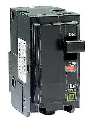 SQUARE D BY SCHNEIDER ELECTRIC QO 30-Amp Double-Pole Circuit Breaker QO230CP