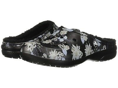 Crocs Women's Freesail Graphic Lined Clog Black/Floral