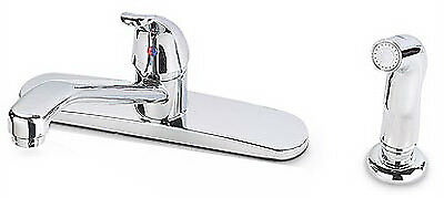 HOMEWERKS WORLDWIDE LLC Kitchen Faucet With Spray, Single Lever, Chrome 116855CA