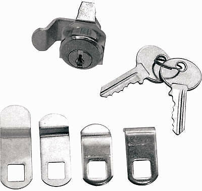 PRIME LINE PRODUCTS Mailbox Replacement Lock Assortment With 5 Cams & 2 Keys, Ni