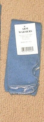 Carolina Blue  2 pr Arm  Warmers made USA  NWt  FREE S/H  keep Warm FREE S/H