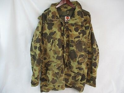 Vintage Columbia Gore Tex Camo Hooded Hunting Jacket Parka Made In USA Mens XL