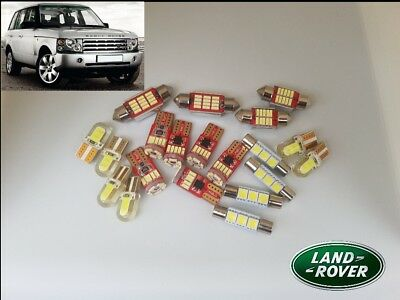 RANGE ROVER L322 02-12 LED canbus no error Interior Kit bulbs*6 months warranty*
