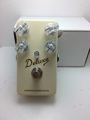 Lovepedal Deluxe Brown Face Overdrive Effect Pedal 2018 Creme