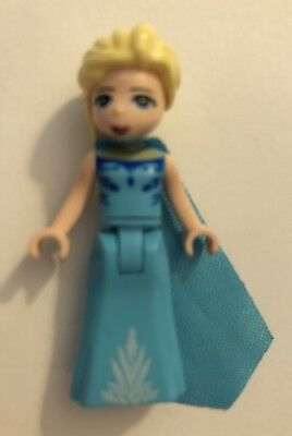 Lego Minifigure Elsa BN mini figure Disney Princess from Frozen mini doll