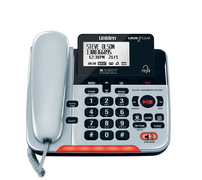 New Uniden Sse37 Visual & Hearing Impaired Corded Digital Phone System Intercom