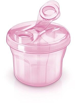 Baby Formula Powder Dispenser Snack Cup Container Pink Girl Travel Gift New