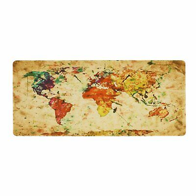 Large XXL World Map Speed Gaming Mouse Pad Desk Mat for Laptop Computer 900*400m