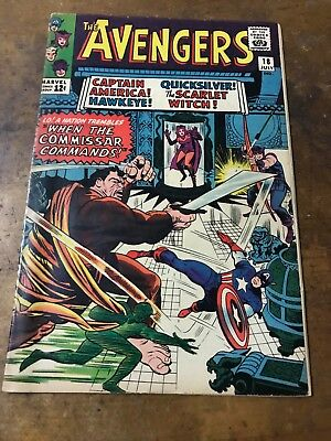 Marvel Silver Age The Avengers #18 (Jul 1965, Marvel) comic, comic book