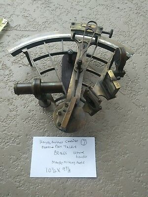 Vintage  Sextant  By. HAYES BROTHER. CARDIFF Barry&Port Talbot