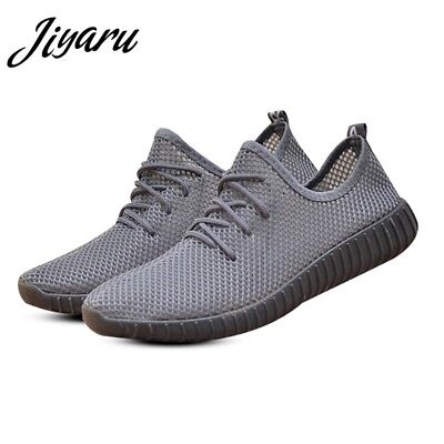 Men's Mesh Sneakers Comfort Outdoor Sports Running Shoes Breathable Casual Flats