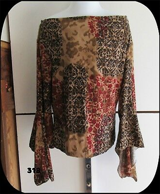 Girls Shirt Amy Byer Size 7 Long Sleeve Made in USA