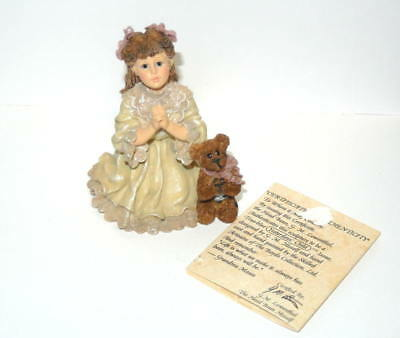 Yesterdays Child  Child Dollstone Collection Teresa And John...The Prayer #3531