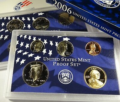 2006 S COMPLETE PROOF SET OF * 10 * COINS  US Mint Box w COA UNSEARCHED