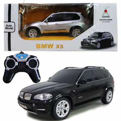 Licensed 1:24 BMW X5 Luxury SUV Battery Radio Remote Control RC Vehicle Car Toy