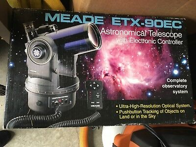 Meade ETX-90EC Telescope with Tripod