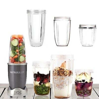 Tall Juicer Cup 18/24/32OZ Blender Clear Mixer Replacement Mug For Nutri Bullet