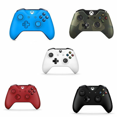 Xbox One Microsoft Wireless Bluetooth Controller - White Black Red Armed Forces