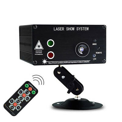 48 Pattern Stage Laser Projector Lights Mini LED RGB Lighting Party DJ Disco KTV
