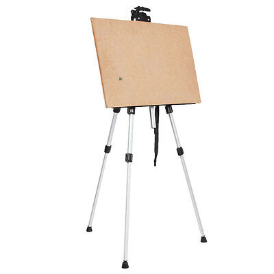 Artist Adjustable Folding Easel Stand WhiteBoard Tripod Display Exhibition + Bag