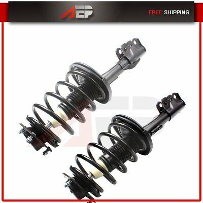2 Front Complete Struts Shocks w/Spring For 2004 2005 2006 Toyota Camry & Solara
