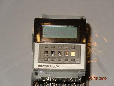 OMRON INDUSTRIAL AUTOMATION  H3CA-A  SOLID STATE TIMER with Socket 6X156E