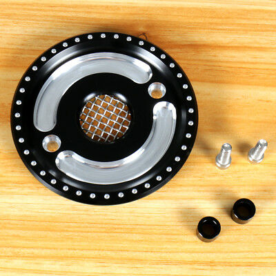 Front Pulley Guard Driver Engine Cover For 04-18 Harley Sportster XL 883 1200