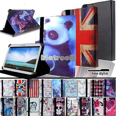 For Various Samsung Galaxy Tab A A6 Tablet Smart Stand Leather Cover Case + pen