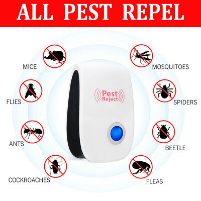 Electronic Ultrasonic Pest Reject Mosquito Cockroach Mouse Killer Repeller