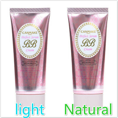 CANMAKE Tokyo Perfect serum BB cream 01 light or 02 Natural 30g Ship from JAPAN