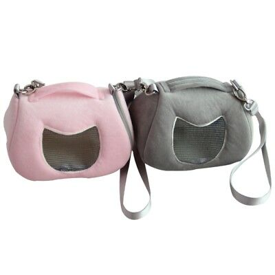 Small Pet Carrier Outdoor Hamsters Hedgehog Shoulder Bag Travel Carrying Pouch