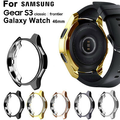 1Pc Slim Electroplated TPU Watch Case Cover for Samsung Gear S3 Frontier