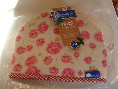 Rushbrookes 4 Cup Tea Cosy Rose - Unused - (PLT16)