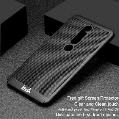 Imak Jazz Mesh Frosted Surface Protective Case Cover for Nokia 6.1