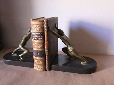 Antique Art Deco bronze/brass Style Books for Display/Decoration